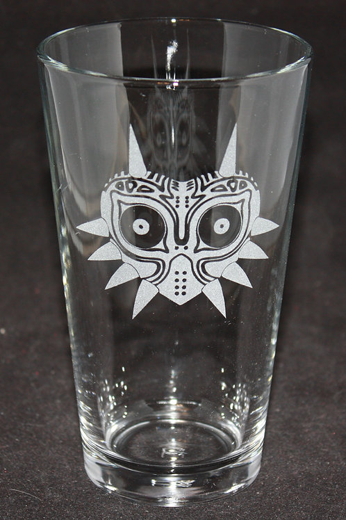 Legend of Zelda Majora's Mask Pint Glass