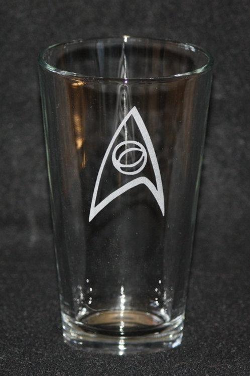 Star Trek Science Symbol Pint Glass