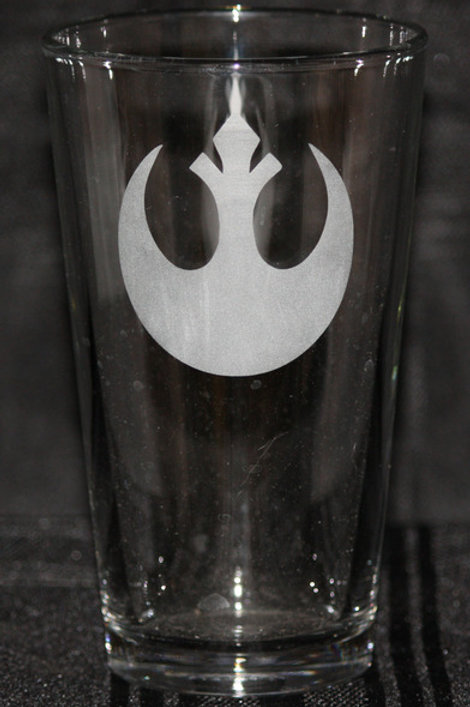 Star Wars Rebel Pint Glass