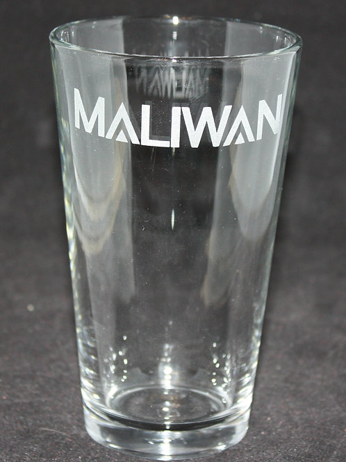 Borderlands Maliwan Pint Glass