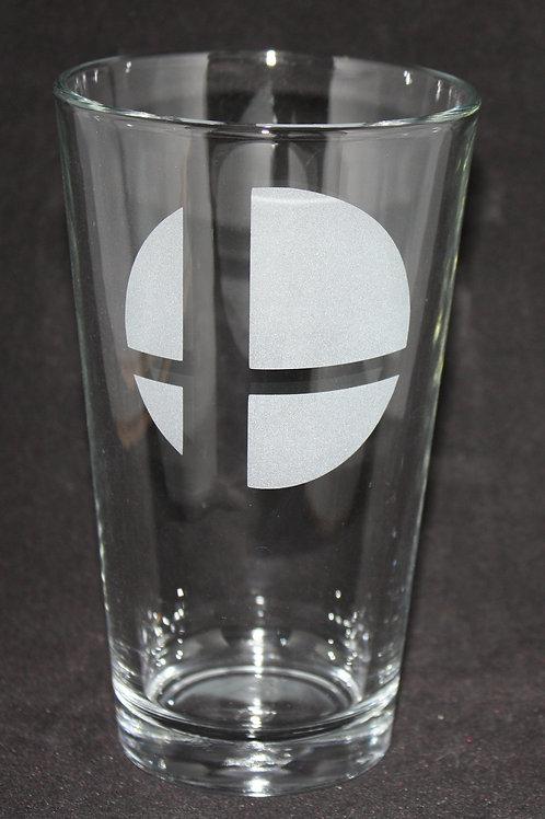 Smash Brothers Pint Glass