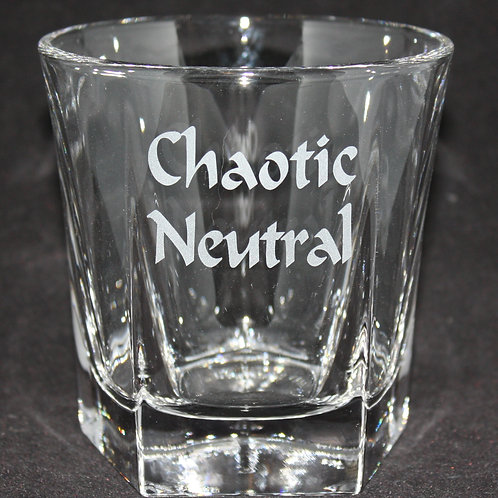 Chaotic Neutral Rocks/Whiskey Glass