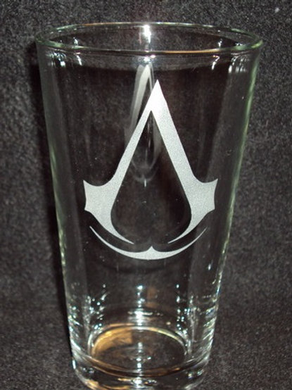 Assassin's Creed Symbol Pint Glass