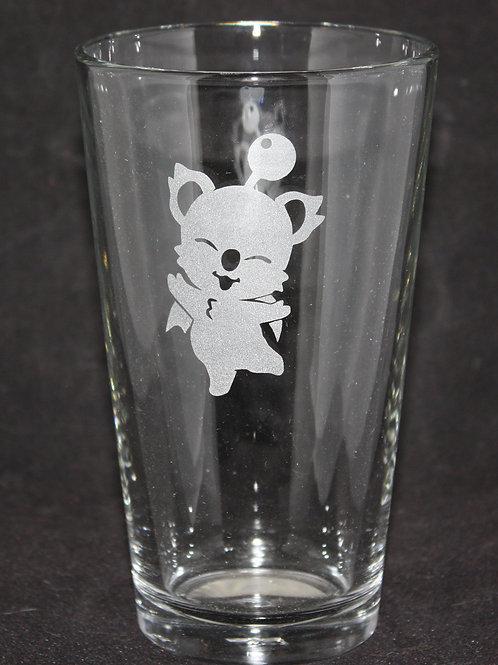 Final Fantasy Moogle Pint Glass