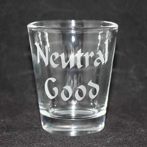Neutral Good Shot Glass