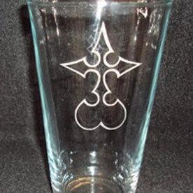 Kingdom Hearts Nobody Symbol Pint Glass