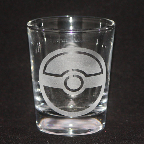 Pokemon Pokeball Shot Glass