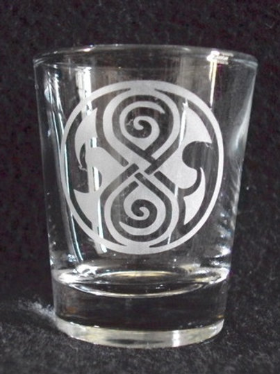 Doctor Who Time Lord Gallifrey Shot Glass