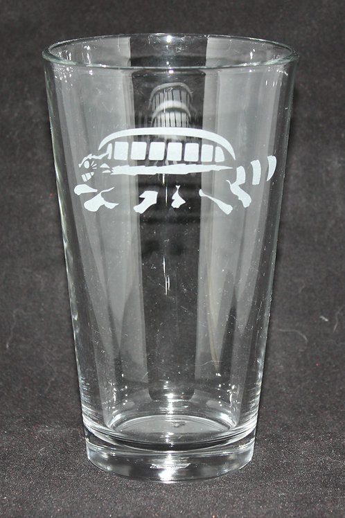 Catbus Pint Glass