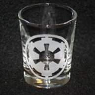 Star Wars Empire Symbol Shot Glass