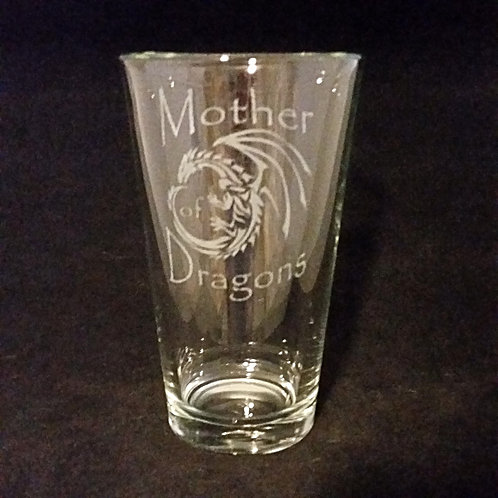 Game of Thrones Mother of Dragons Pint Glass