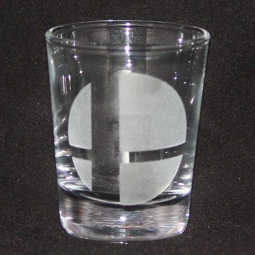 Smash Brothers Shot Glass