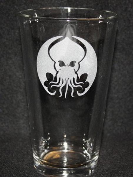 Cthulhu Elder Gods Hellboy Pint Glass