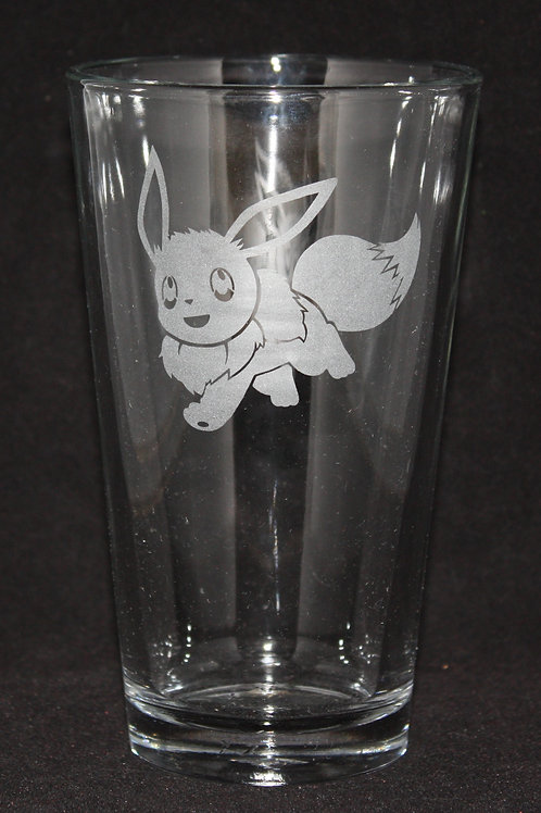 Pokemon Eevee Pint Glass