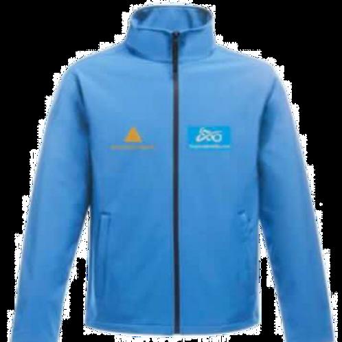 Soft shell jacket (blue)