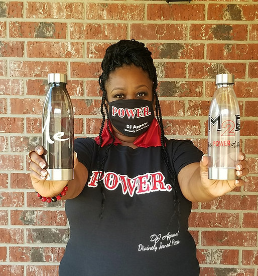 The POWER pack! Tee, Tumbler, & Mask