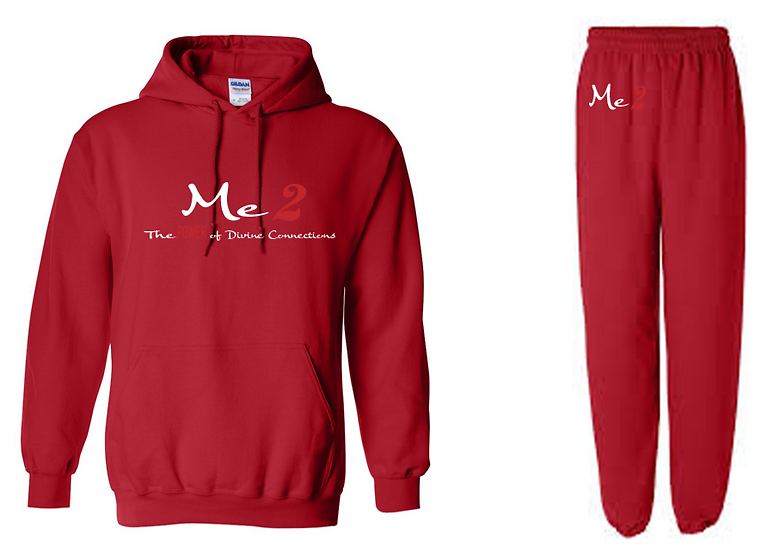 Me2 Sweatsuit- Red