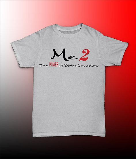 White Me2 Logo Tee
