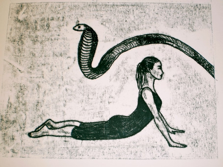 le Cobra  Bhujanganasana
