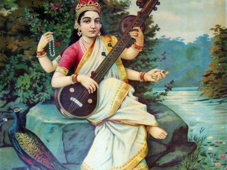 Saraswati : Déesse des Arts & des Etudiants