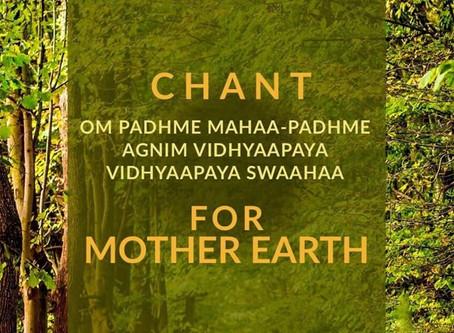 Chant Mantra pour la Terre Mére