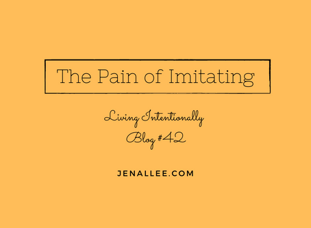 Blog #42 The Pain of Imitating