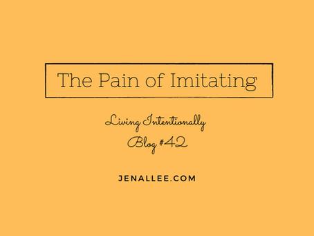 Blog #42 The Pain of Imitating