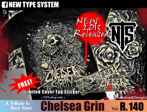 Chelsea Grin deathcore band Playing With Fire Ashes to Ashes 140 NTS New Type System T-shirt Sz. S,M,L,XL,XXL Tank Top ,Long sleeve t-shirt ,Hood Hoodies ...
