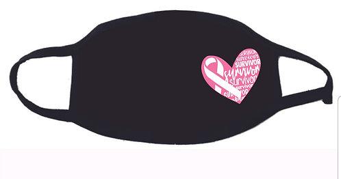 Breast Cancer Survivor Facemask