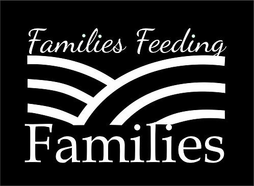 Families Feeding Families Window Decal