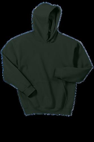 Gildan® - Youth Heavy Blend™ Hooded Sweatshirt Dark Green