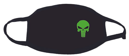 Green Punisher Face Mask