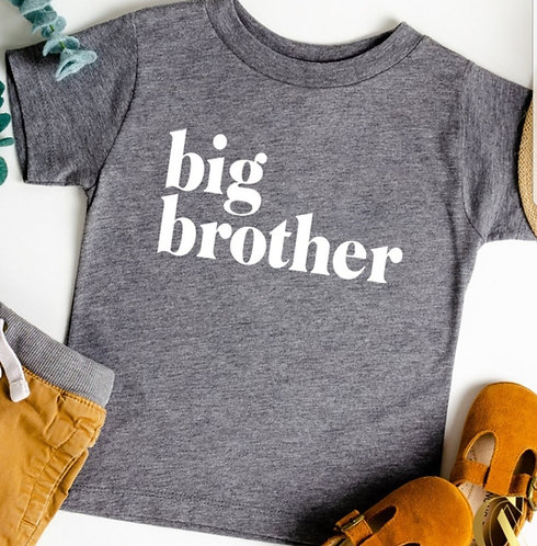 Big Brother or Big Sister T Shirt