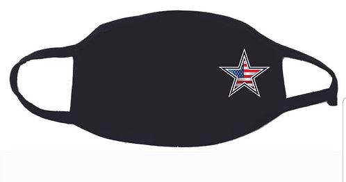 Cowboys Flag Face Mask