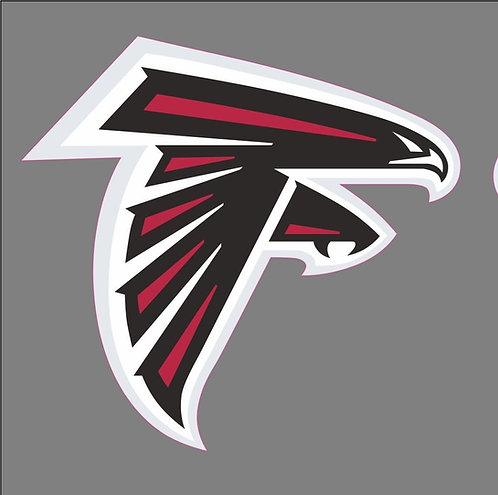 Atlanta Falcon Helmet Decal