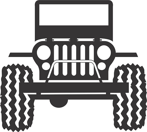 Jeep Front Decal