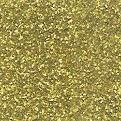 YELLOW GOLD GLITTER VINYL 12X20