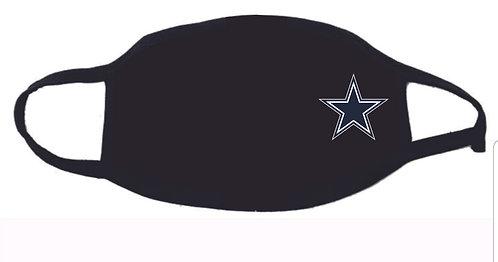 Cowboys Face Mask