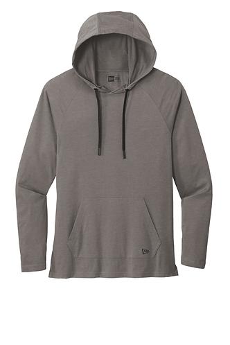 New Era® Tri-Blend Knit Hoodie Shadow Grey