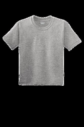 Gildan® - Youth DryBlend® 50 Cotton/50 Poly Sport Grey T-Shirt