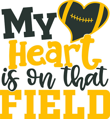My Heart is on that Field Print
