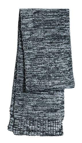 Sport-Tek® Marled Scarf with Embroidered Logo STA04