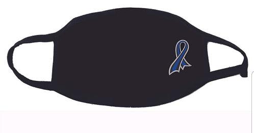 Blue Ribbon Face Mask