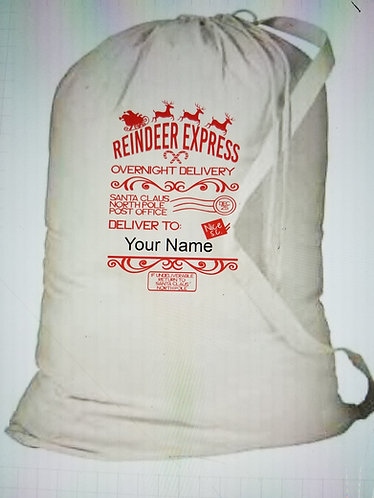 Reindeer Express bag to carrier Gifts