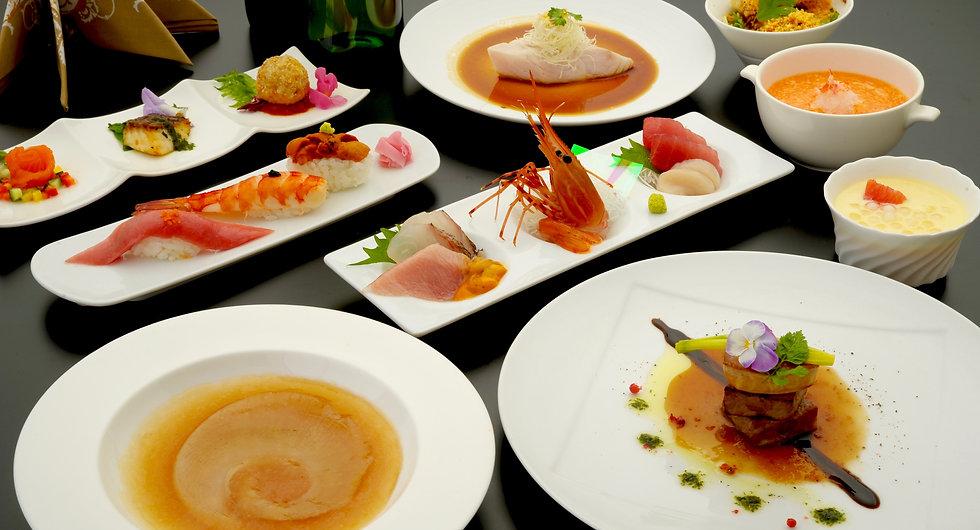 ベルファインはお客様の大切な時間に料理を通じて演出します