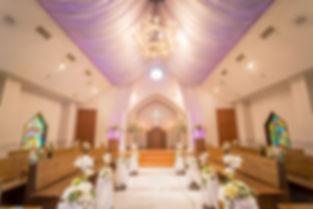サンタモリーナ教会内部 教会式