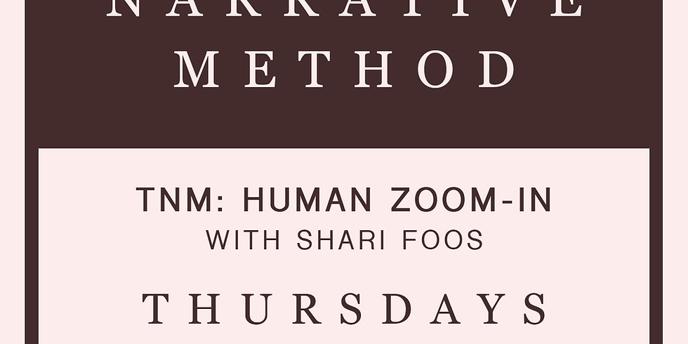 TNM: Human Zoom-In with Shari Foos