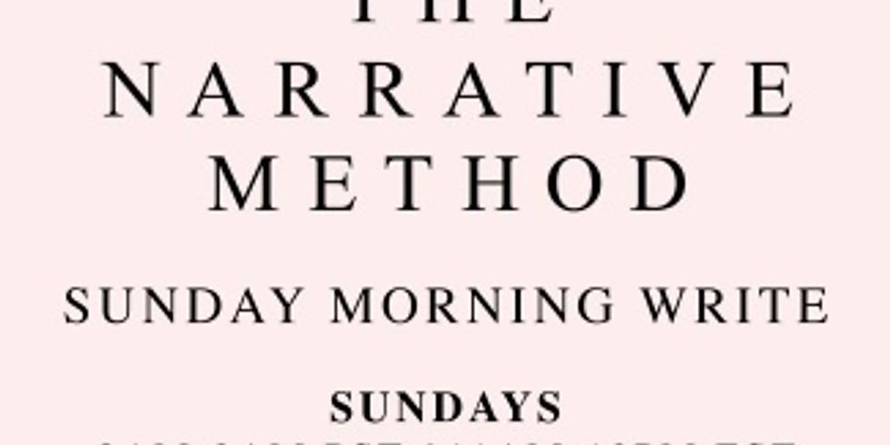 TNM Sunday Morning Write with Shari Foos