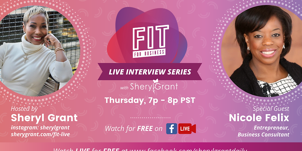 FREE FIT Live Interview | Special Guest: Nicole Felix