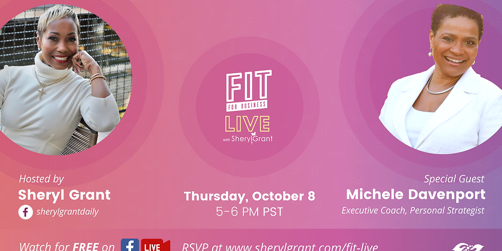 """FIT LIVE! Talking """"The Power of Digital Mentorship"""" with Michele Davenport!"""